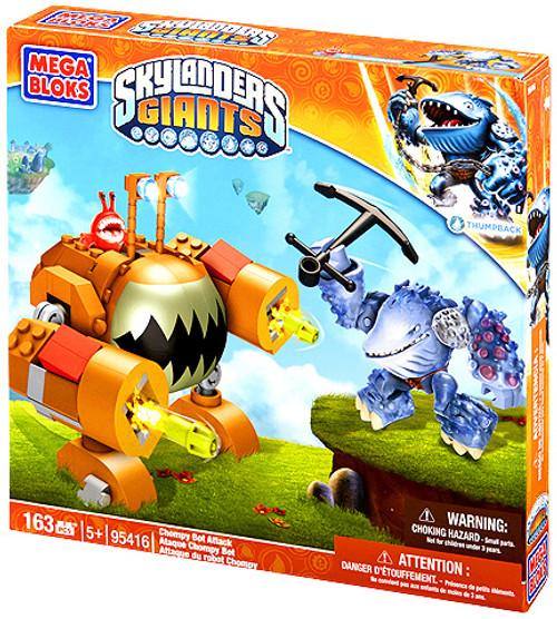 Mega Bloks Skylanders Giants Chompy Bot Attack Set #95416