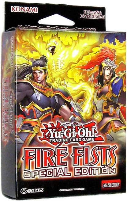 YuGiOh Fire Fists Special Edition Pack