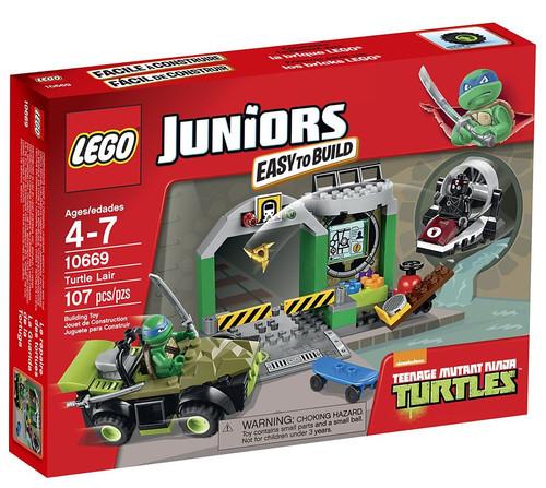 LEGO Teenage Mutant Ninja Turtles Nickelodeon Turtle Lair Set #10669