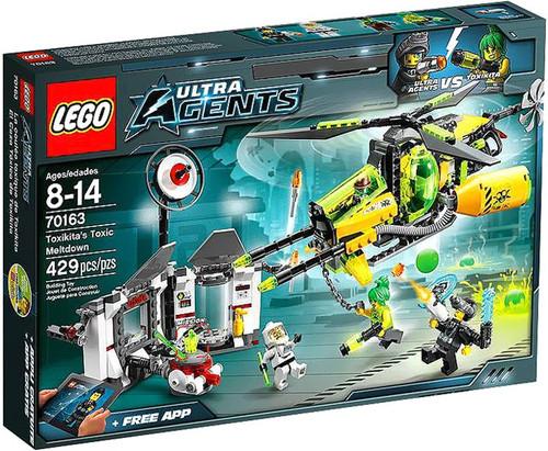 LEGO Agents Toxikita's Toxic Meltdown Set #70163