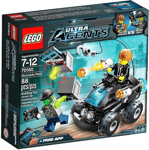 LEGO Agents Riverside Raid Set #70160