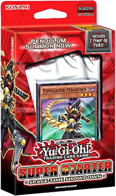 YuGiOh 2014 Super Starter: Space-Time Showdown Deck [1st Edition]