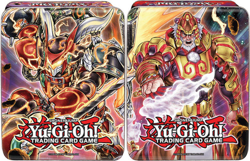 YuGiOh 2014 Collector Mega Tin Brotherhood of the Fire Fist Tiger King & Bujintei Susanowo Collector Tins
