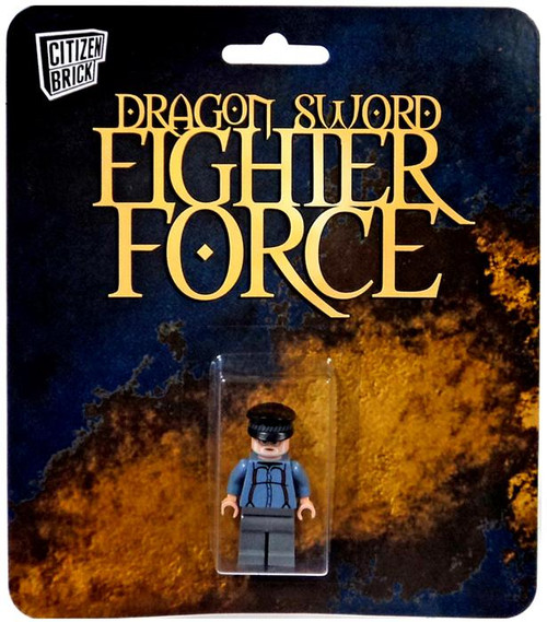 Citizen Brick Dragon Sword Fighter Force Sir TypesaLot Minifigure