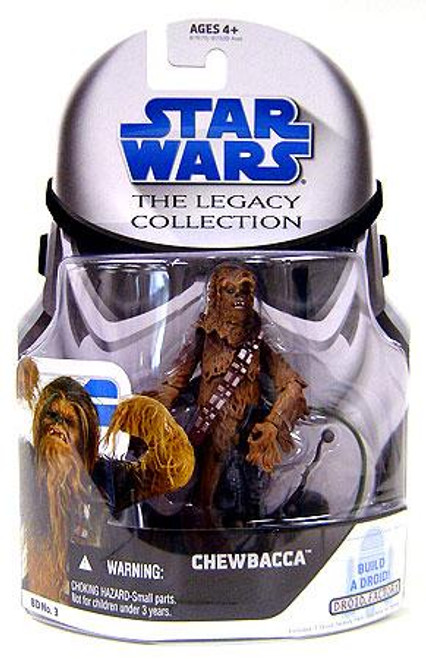 Star Wars Revenge of the Sith Legacy Collection 2008 Droid Factory Chewbacca Action Figure BD03