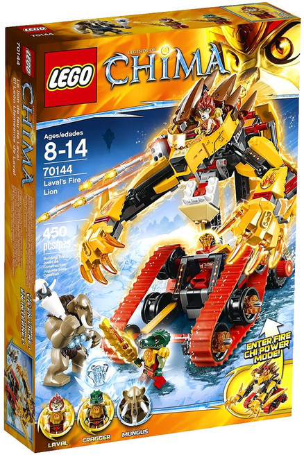 LEGO Legends of Chima Laval's Fire Lion Set #70144