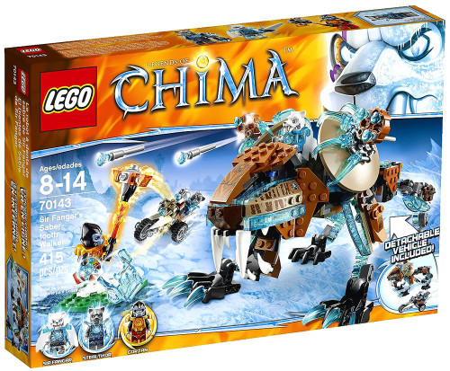 LEGO Legends of Chima Sir Fangar's Sabre-Tooth Walker Set #70143