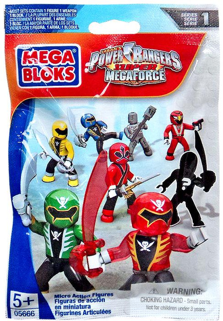 Mega Bloks Power Rangers Super Megaforce Series 1 Series 1 Mystery Pack Mystery Pack
