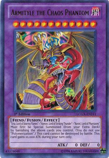 YuGiOh GX Legendary Collection 2 Ultra Rare Armityle the Chaos Phantom LCGX-EN211