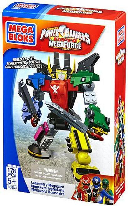 Mega Bloks Power Rangers Super Megaforce Legendary Megazord Set #5663