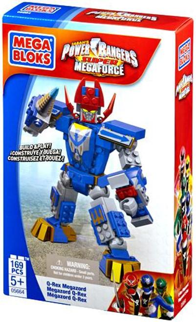 Mega Bloks Power Rangers Super Megaforce Q-Rex Megazord Set #5664