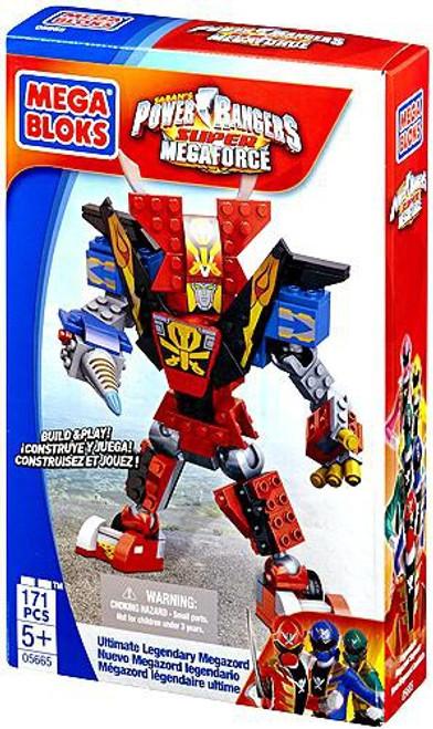 Mega Bloks Power Rangers Super Megaforce Ultimate Legendary Megazord Set #5665
