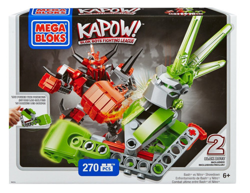 Mega Bloks Kapow! Bash vs Nitro Showdown Set #94215
