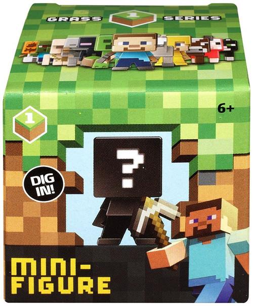 Minecraft Grass Series 1 Mini Figure Mystery Pack