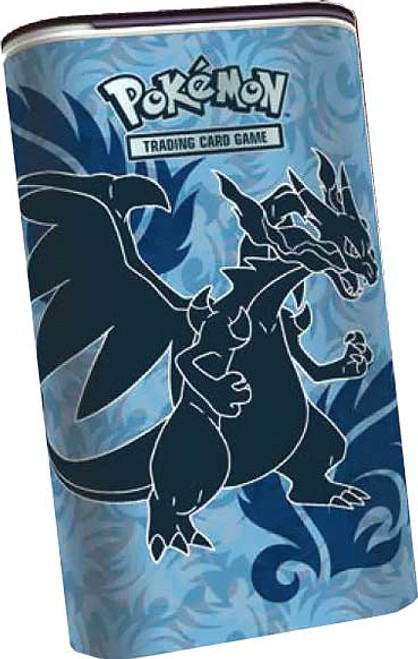 Pokemon XY Card Supplies Mega Charizards Elite Trainer Deck Shield Tin