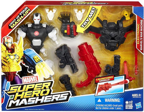 Super Hero Mashers Marvel's War Machine (Electronic) Action Figure