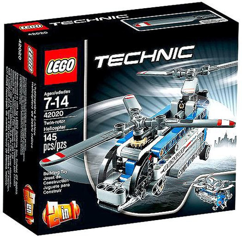 LEGO Technic Twin-rotor Helicopter Set #42020