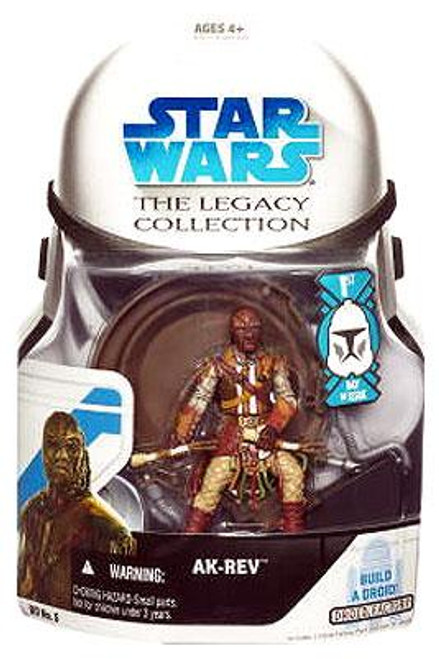 Star Wars Return of the Jedi Legacy Collection 2008 Droid Factory Ak-Rev Action Figure BD05 [First Day of Issue]