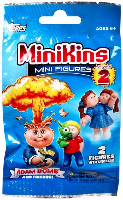 Garbage Pail Kids MiniKins Series 2 Mini Figure Mystery Pack [2 Figures Per Pack]