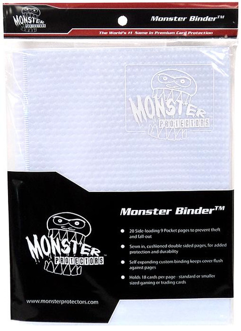 Card Supplies White 9-Pocket Binder