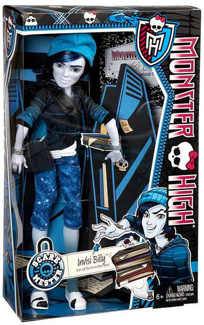 Monster High Scaremester Invisi Billy 10.5-Inch Doll