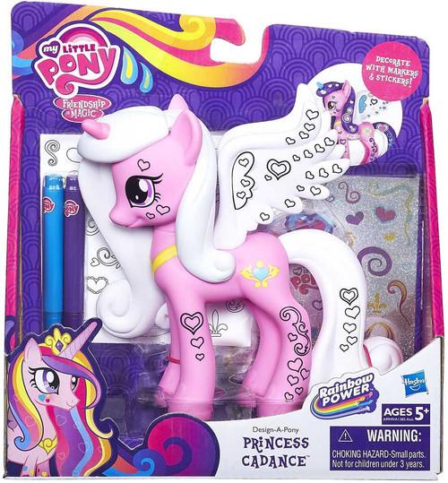 My Little Pony Rainbow Power Design-A-Pony Princess Cadance Figure