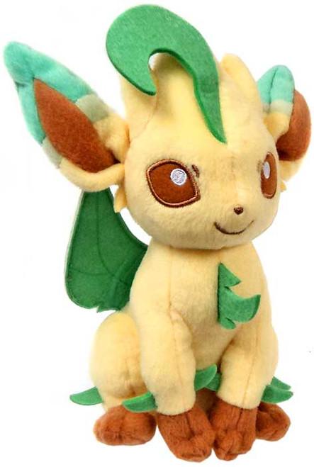 Pokemon XY Evolutions Leafeon 8-Inch Plush