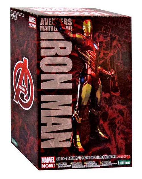 Avengers ArtFX Marvel Now Iron Man 1/10 Statue [Red Variant]