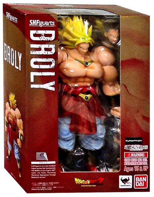 Dragon Ball Z S.H. Figuarts Broly Action Figure