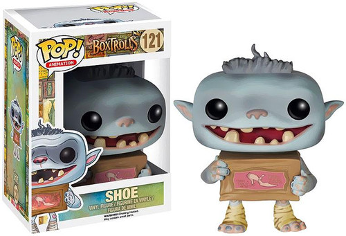 Funko Boxtrolls POP! Animation Shoe Vinyl Figure #121