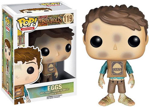 Funko Boxtrolls POP! Animation Eggs Vinyl Figure #119