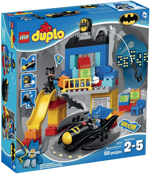LEGO DUPLO Batcave Adventure Set #10545