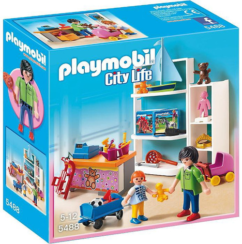 playmobil city life toy shop set 5488 toywiz. Black Bedroom Furniture Sets. Home Design Ideas