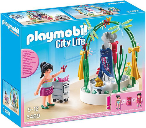 Playmobil City Life Clothing Display Set #5489