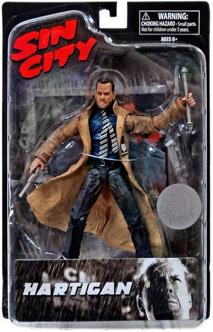 Sin City Hartigan Exclusive Action Figure [Bloody]