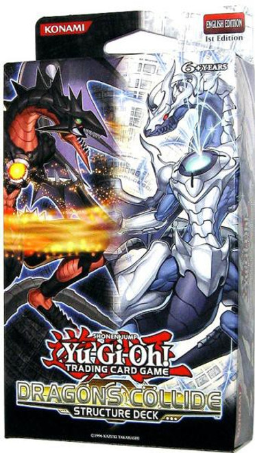 YuGiOh Structure Deck: Dragons Collide Dragons Collide Structure Deck [1st Edition] [Sealed Deck]