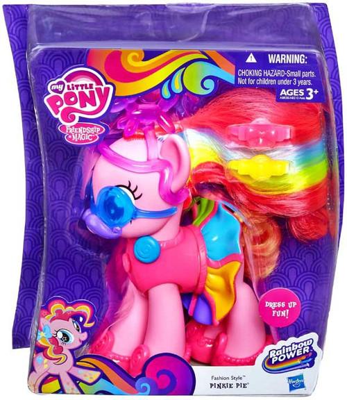 My Little Pony Friendship Is Magic Rainbow Power Pinkie Pie Figure Fashion Style Hasbro Toys