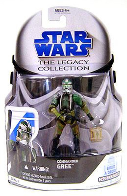 Star Wars Revenge of the Sith Legacy Collection 2008 Droid Factory Commander Gree Action Figure GH01