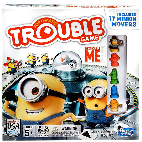 Minion Toys And Games : Despicable me trouble board game hasbro toys