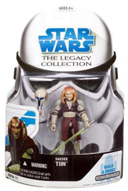 Star Wars The Clone Wars Legacy Collection 2008 Droid Factory Saesee Tiin Action Figure BD11 [General's Armor]