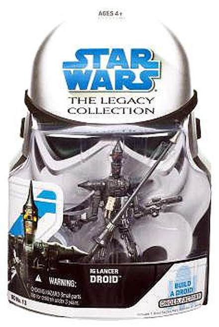 Star Wars The Clone Wars Legacy Collection 2008 Droid Factory IG Lancer Droid Action Figure BD13