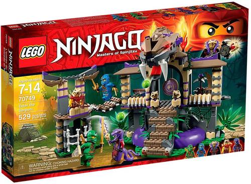 Lego ninjago enter the serpent set 70749 toywiz - Serpent lego ninjago ...
