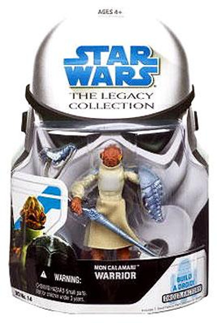 Star Wars The Clone Wars Legacy Collection 2008 Droid Factory Mon Calamari Warrior Action Figure BD14