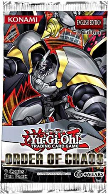 YuGiOh Order of Chaos Booster Pack [1st Edition]