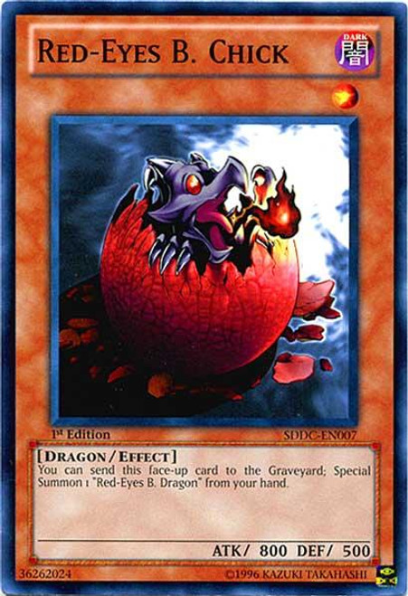 YuGiOh 5D's Structure Deck: Dragons Collide Common Red-Eyes B. Chick SDDC-EN007