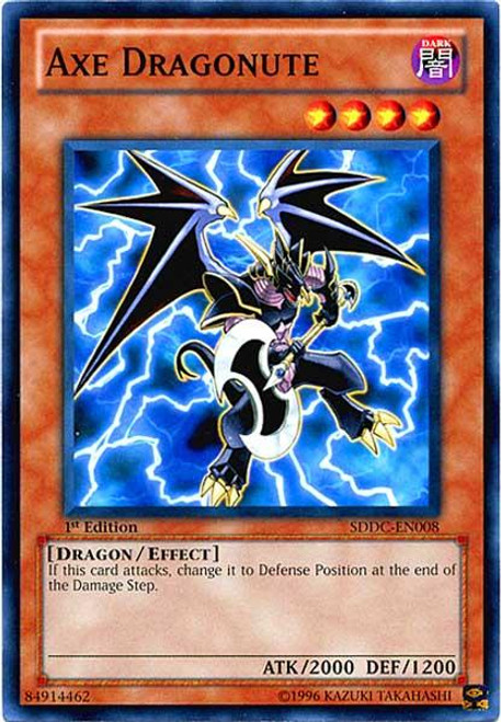 YuGiOh 5D's Structure Deck: Dragons Collide Common Axe Dragonute SDDC-EN008