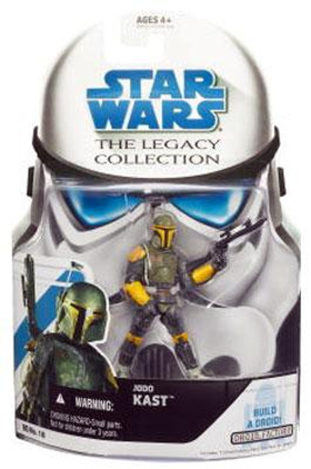 Star Wars The Clone Wars Legacy Collection 2008 Droid Factory Jodo Kast Action Figure BD18
