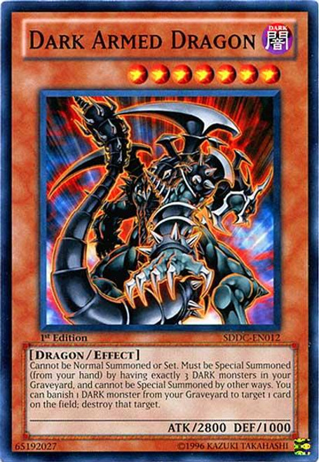 YuGiOh 5D's Structure Deck: Dragons Collide Common Dark Armed Dragon SDDC-EN012