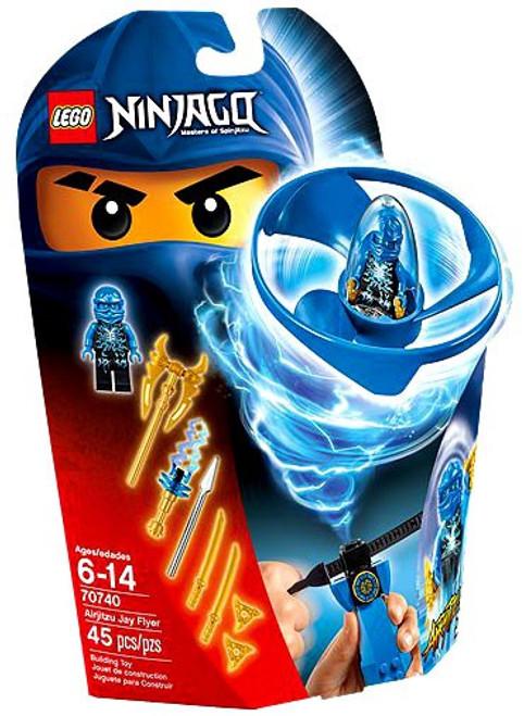 LEGO Ninjago Airjitzu Jay Flyer Set 70740 - ToyWiz
