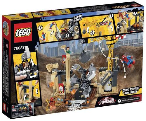 LEGO Marvel Super Heroes Ultimate Spider-Man Rhino Sandman ...